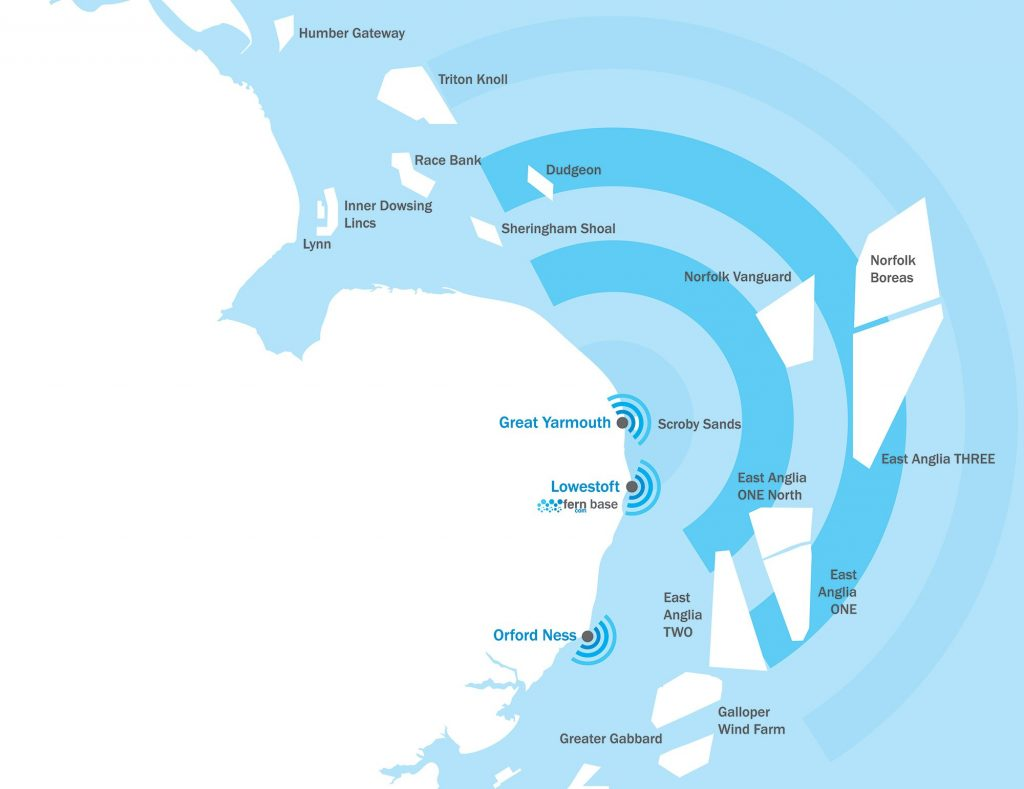Wavecom coverage map
